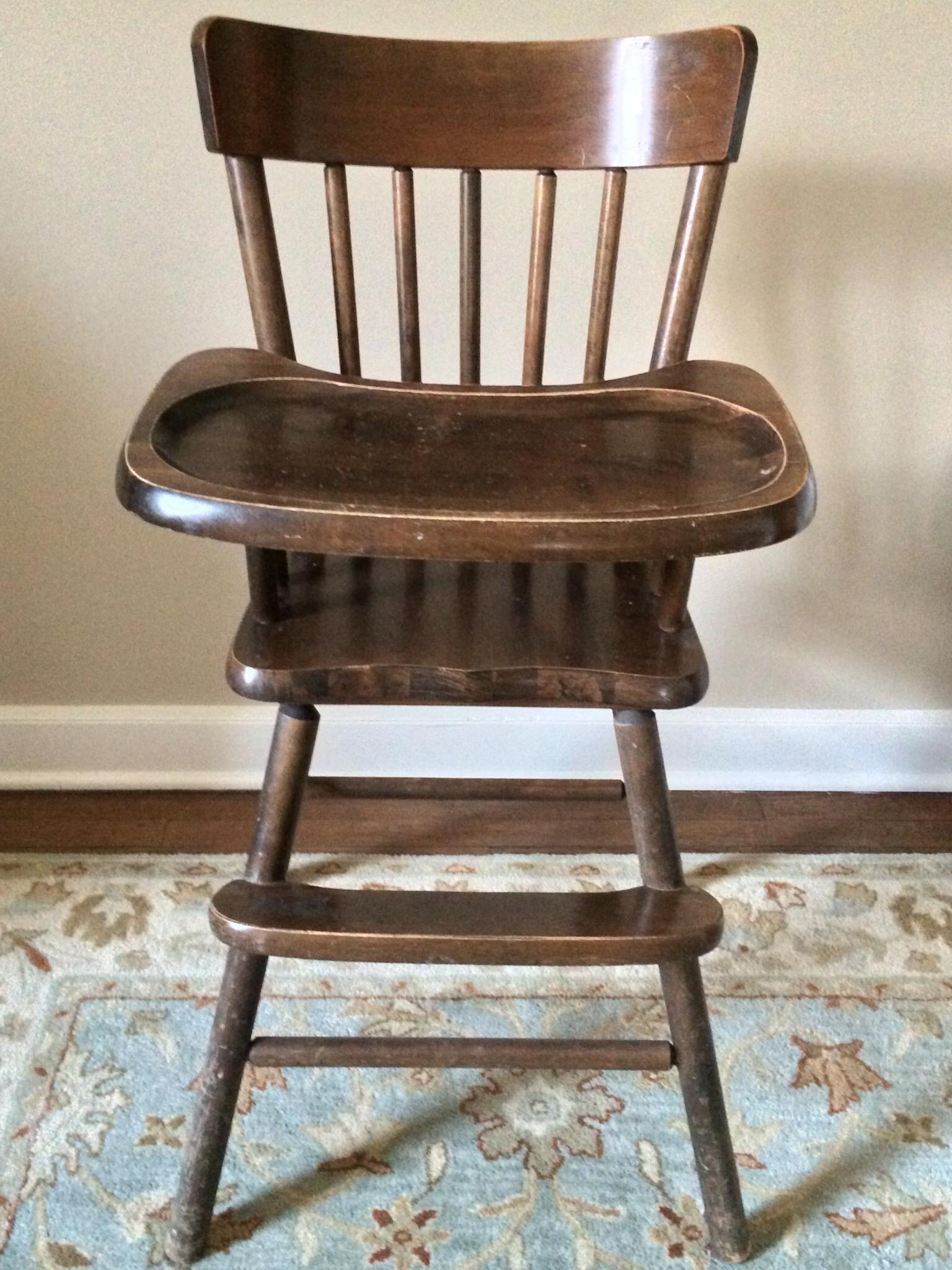 provence blue high chair hazel mae home