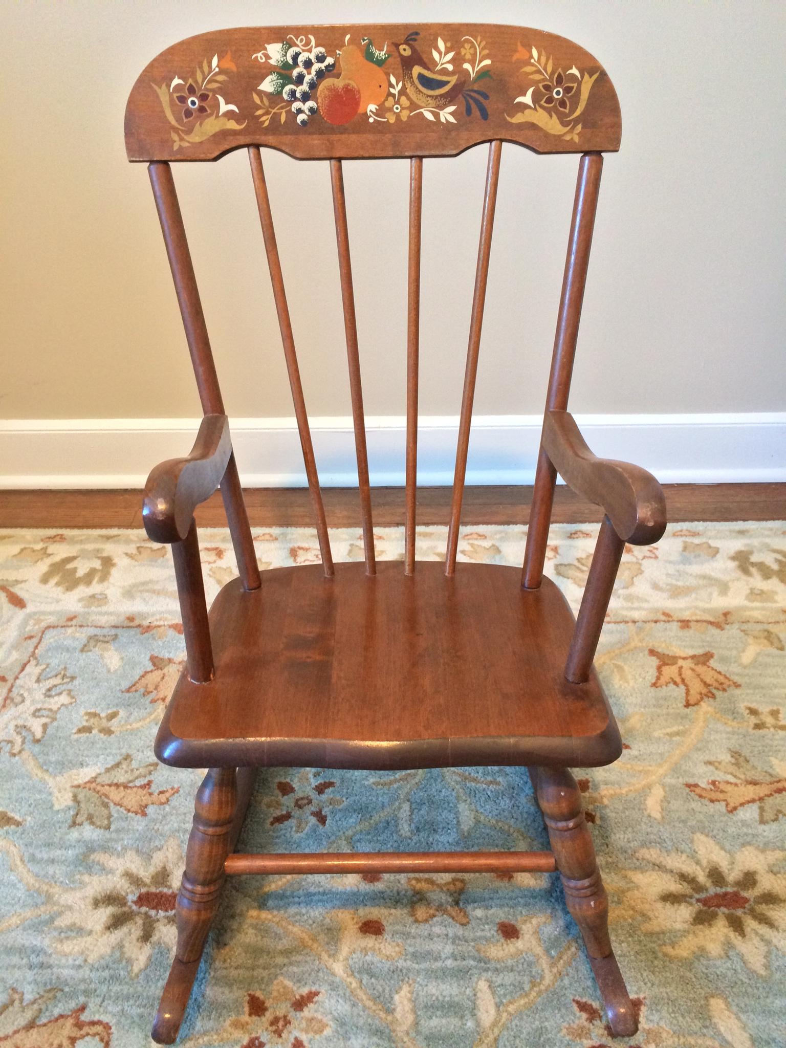 sweet rocking chair hazel mae home. Black Bedroom Furniture Sets. Home Design Ideas