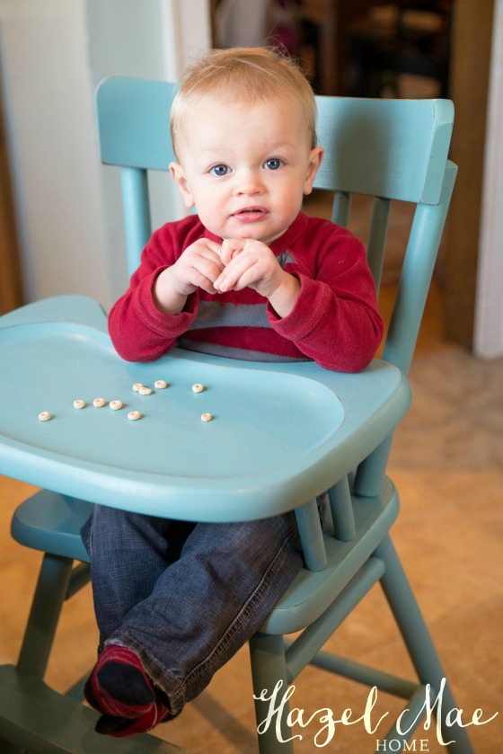 High Chair Provence After1
