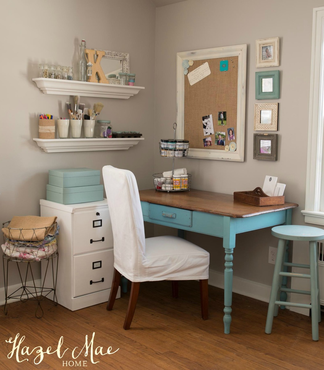 Bedroom Office: Hazel Mae Home Office