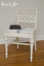 Grainsack Old White Chair