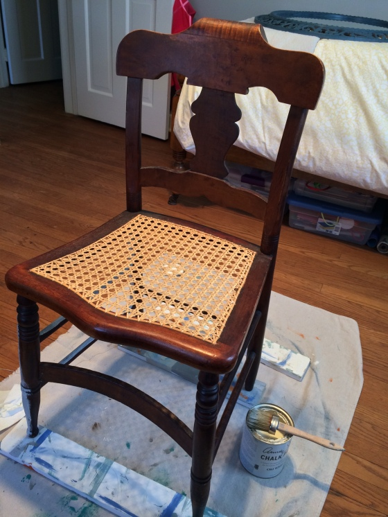 Caned Chair1