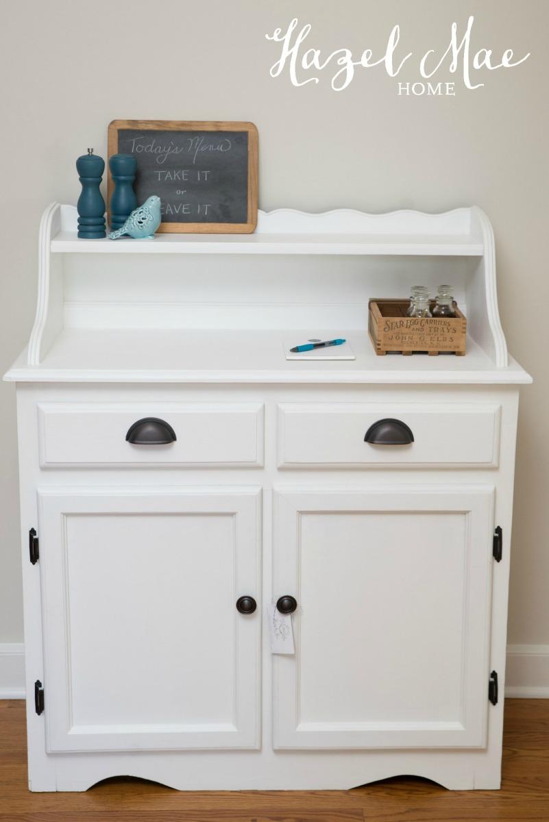 Pure White Kitchen Cabinet