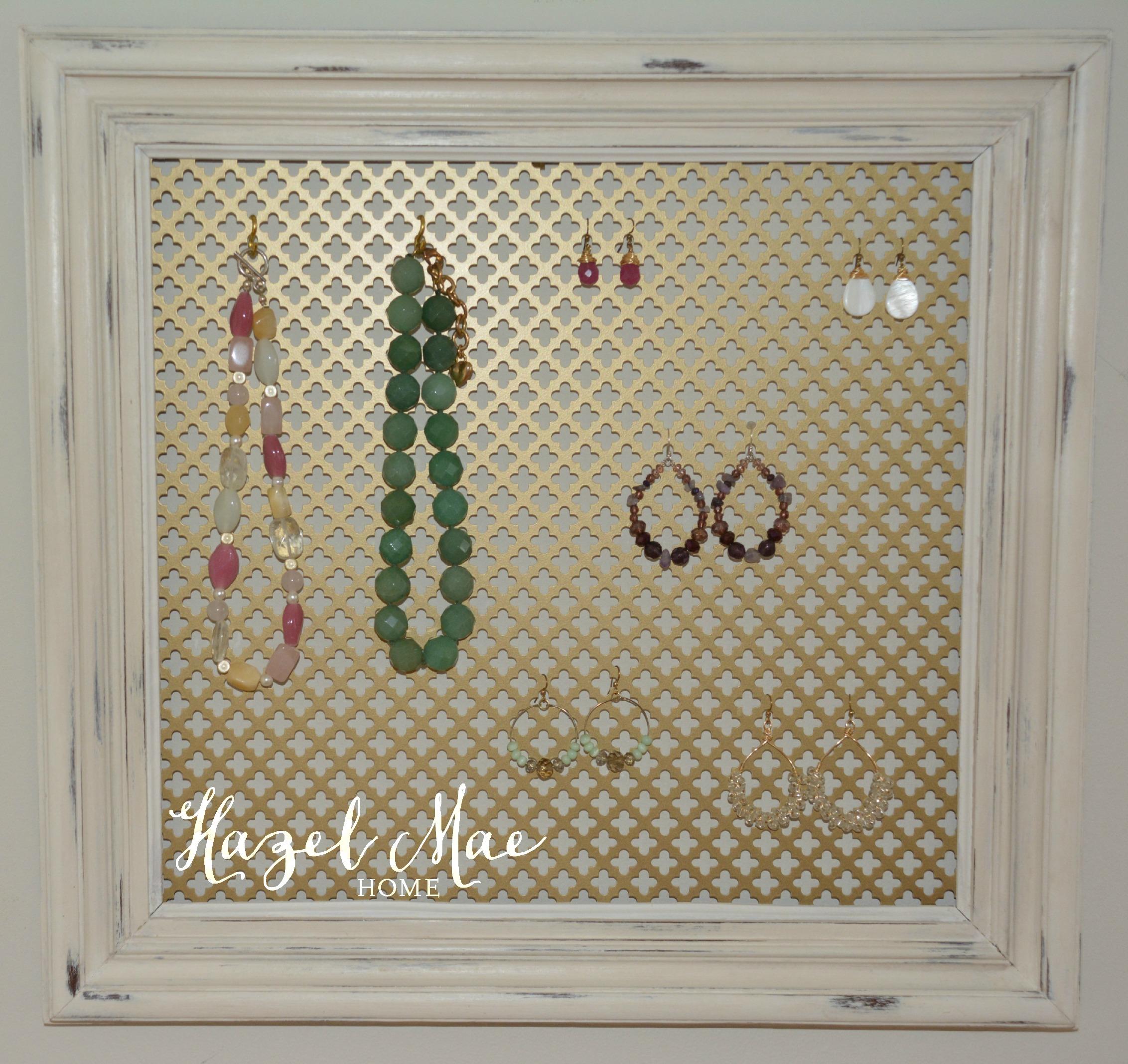 Custom Jewelry Display Frame: Vintage Frame Jewelry Displays