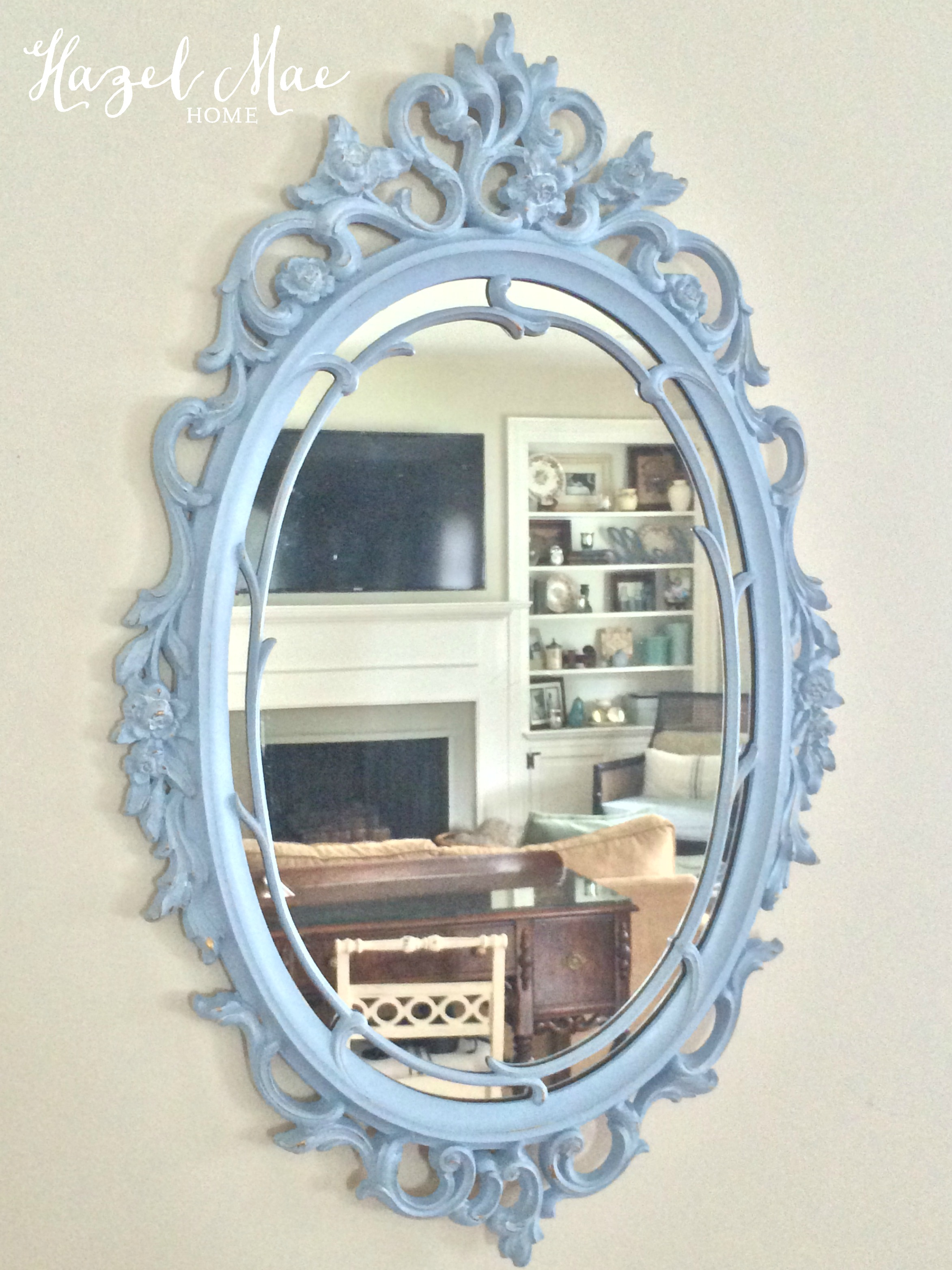 painted mirrors a simple way to add vintage charm hazel mae home