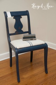 Custom Navy Chair