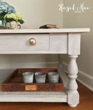 Paris Grey White Washed Coffee Table