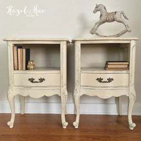 Old Ochre Nightstands