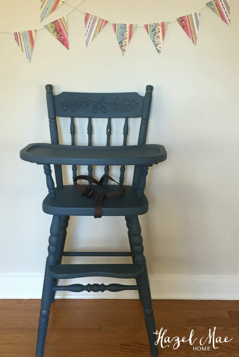 Vintage Painted High Chair!